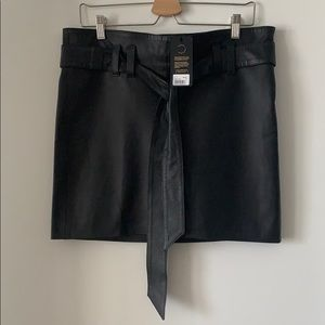 💯 authentic handmade leather skirt